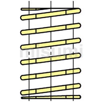 矩形螺旋弹簧(模具弹簧) -SWF-