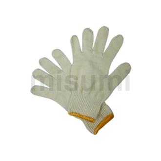 500g黄边特级棉纱手套