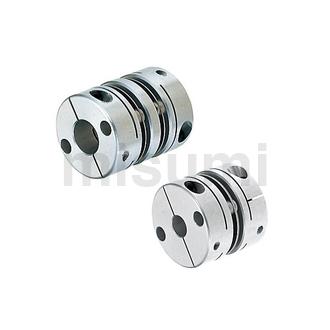 膜片式联轴器 夹持型/适用伺服马达型