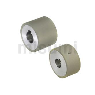 聚氨酯滚轮 厚度选择型 带键槽直柱型
