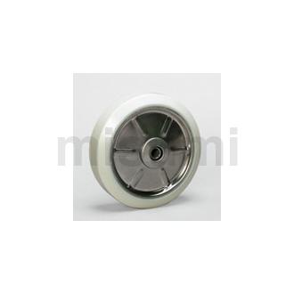 SWUW 抗菌白色聚氨酯轮(不锈钢用)