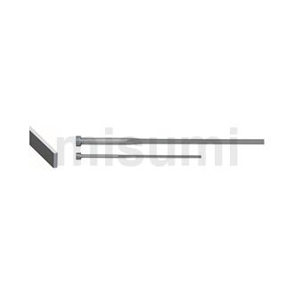 精密级扁推杆 -SKH51/P_W公差0_-0.005/自由指定型-
